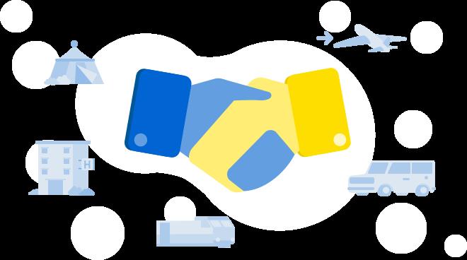 Partners of tiket.com