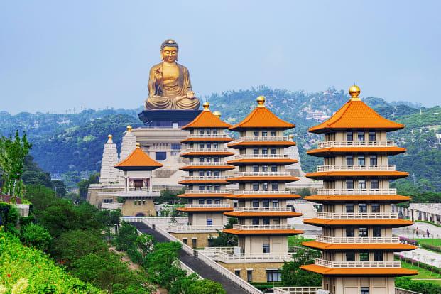 Kaohsiung Fo Guang Shan Buddha Museum and Lotus Pond Tour