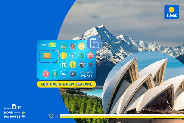 JavaMifi 4G SIM Card Australia & New Zealand