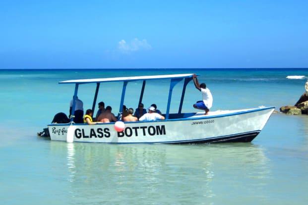 Glass Bottom, Turtle Island, Snorkeling Three Island Watersport