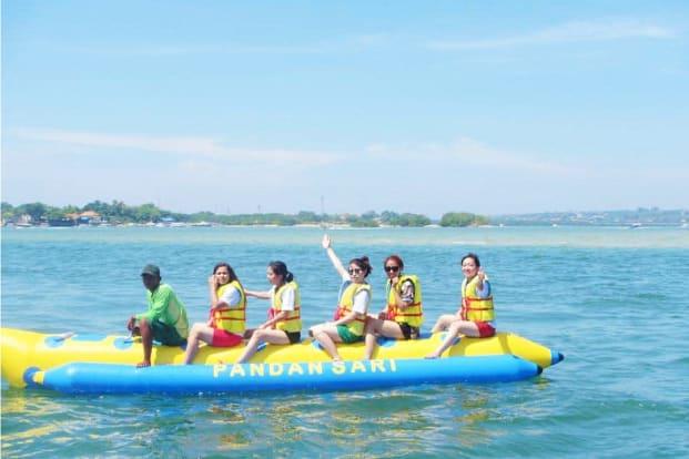 Banana Boat by Pandan Sari Water sport