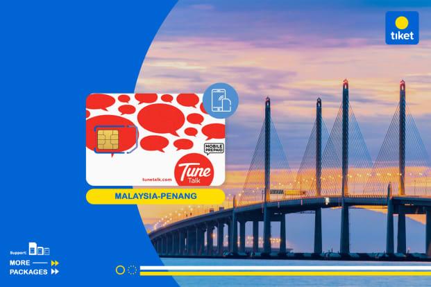 Malaysia 4G SIM Card (Penang International Airport Pickup)