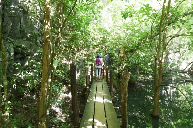 Taraw Via Ferrata (Taraw Cliff, Canopy Walk Viewdeck and Dreamcatcher) Ticket in El Nido