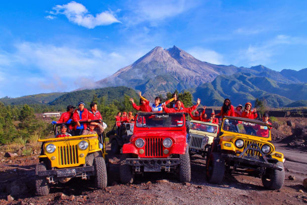 Paket Tur 1 Day Merapi Jeep By Arowisata