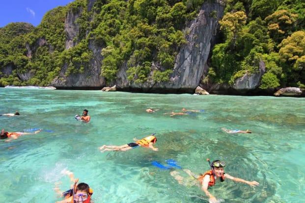Phi Phi, Maya Area, Khai and Bamboo Island Snorkeling Day Trip from Phuket