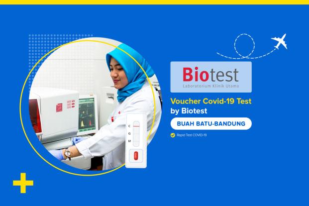 COVID-19 Rapid Test by Biotest Buah Batu Bandung