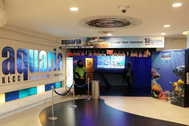 Aquaria KLCC Ticket in Kuala Lumpur