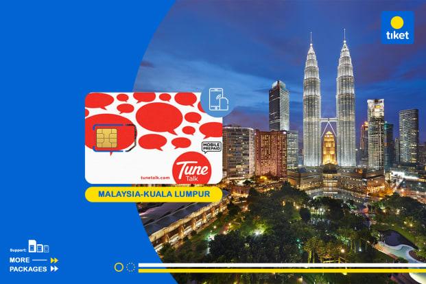 Malaysia 4G SIM Card (Kuala Lumpur International Airport 2 Pickup)