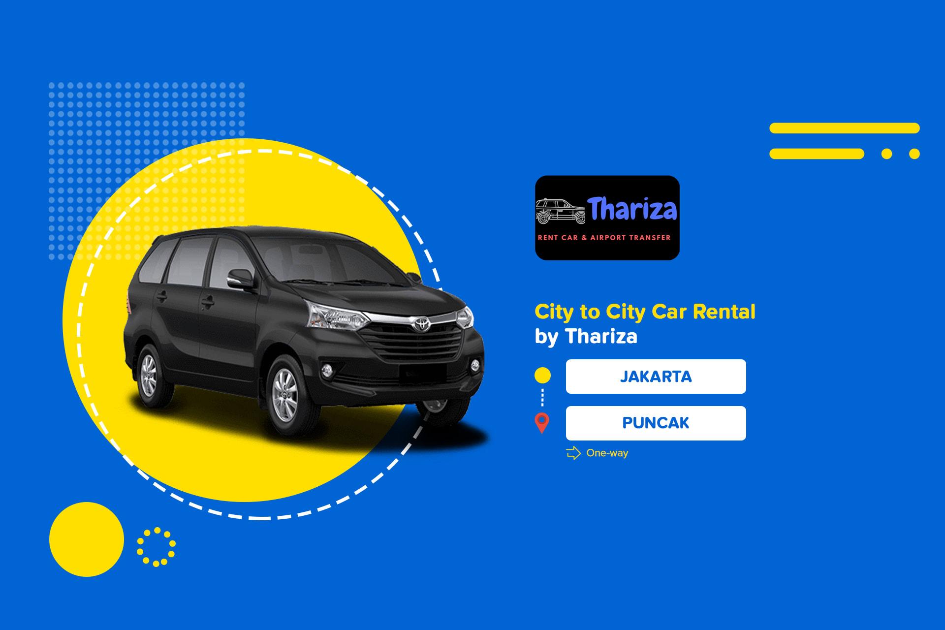 Tiket Sewa Mobil Jakarta Ke Puncak City To City Harga Promo Tiket Com
