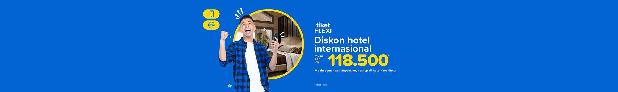 Promo Tiket Flexi Hotel Internasional - tiket.com