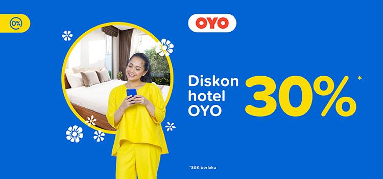 Promo Hotel Oyo Diskon 30 Tiket Com