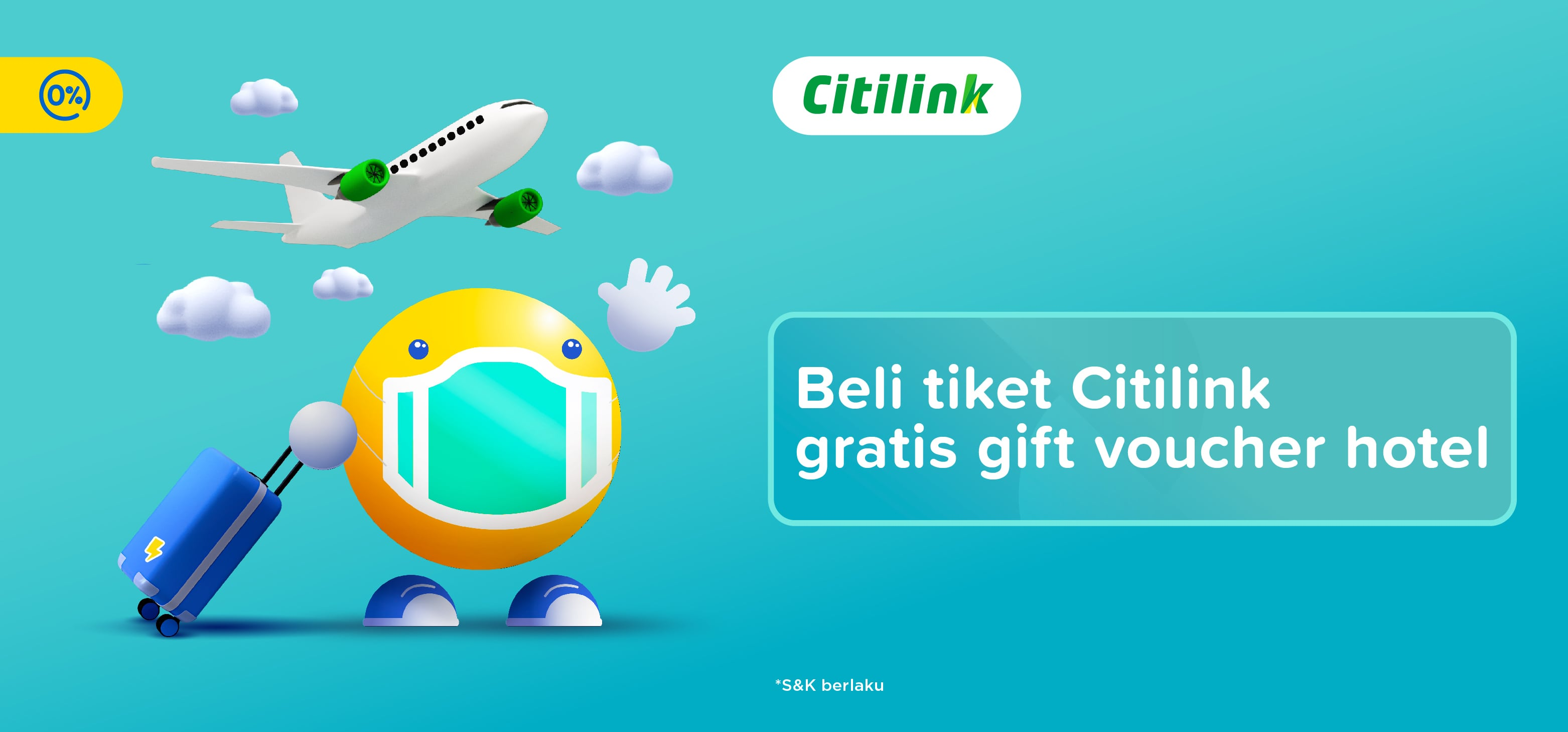 Promo Tiket Pesawat Citilink Gratis Voucher Hotel Tiket Com