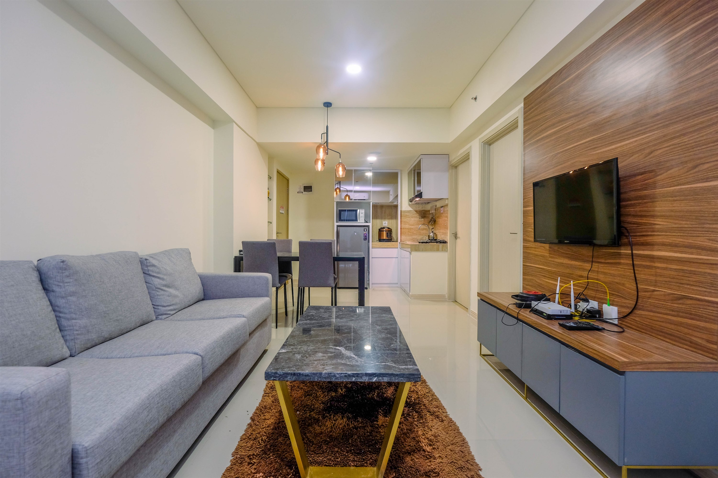 Comfort and Strategic 3BR Meikarta Apartment By Travelio, Cikarang
