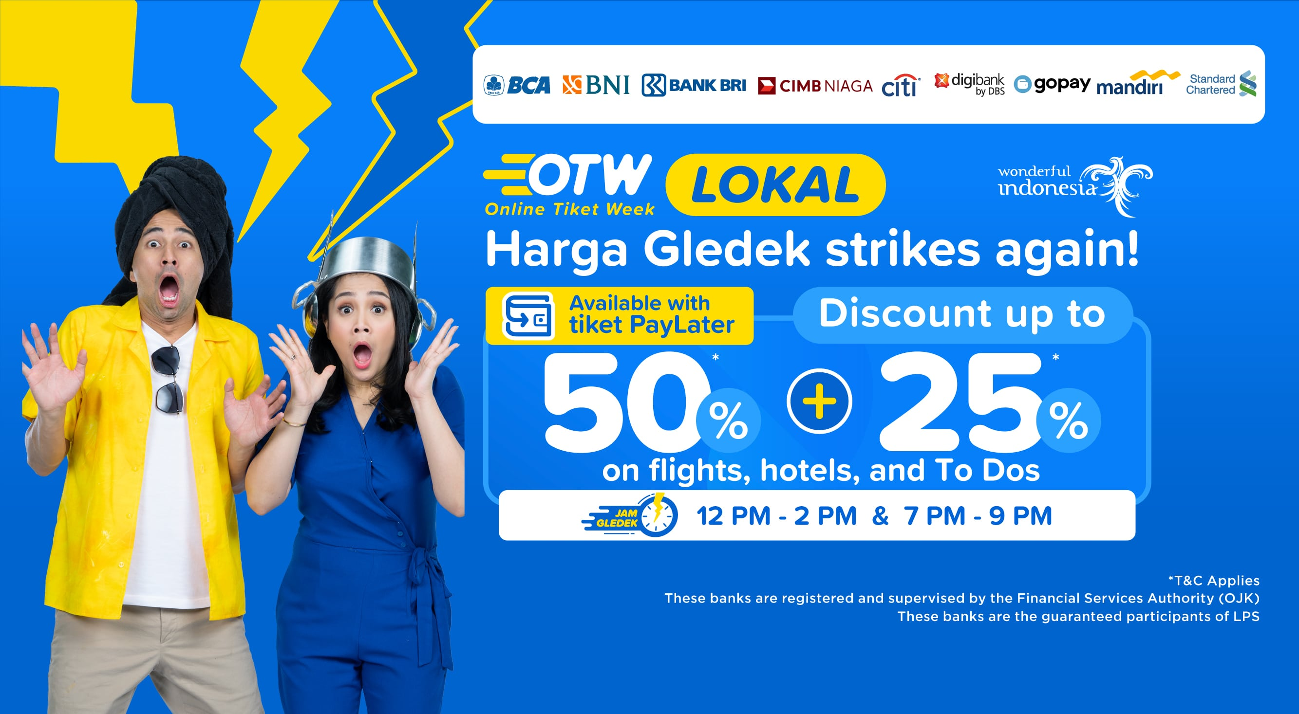⚡ OTW Lokal flight, hotel, and To Do discount up to 50%+25% ⚡
