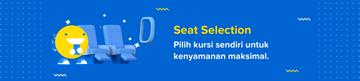 Pilih Kursi Sendiri dengan Seat Selection   tiket.com