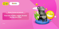 Enjoy Baby Jogger Stroller for Free During Your Stay at Homes