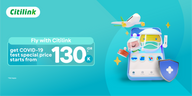 Fly Safer & More Comfortable with Citilink
