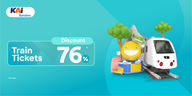 Railink Train is Back! Special Discount 76% for You!