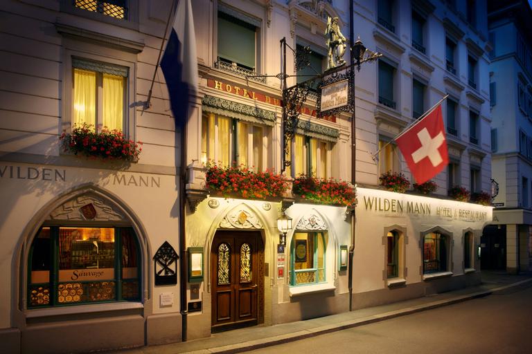 Romantik Hotel Wilden Mann, Luzern