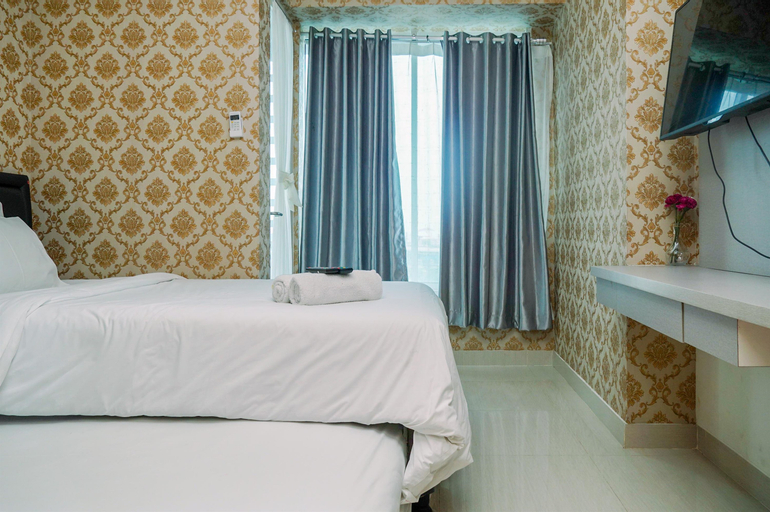 Compact and Modern Studio Room Apartment at Grand Kamala Lagoon By Travelio, Bekasi