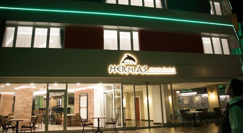 Hermias Marin Hotel, Merkez