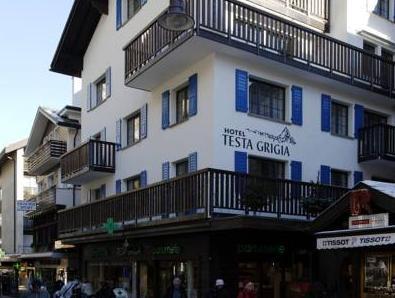 Hotel Garni Testa Grigia, Visp