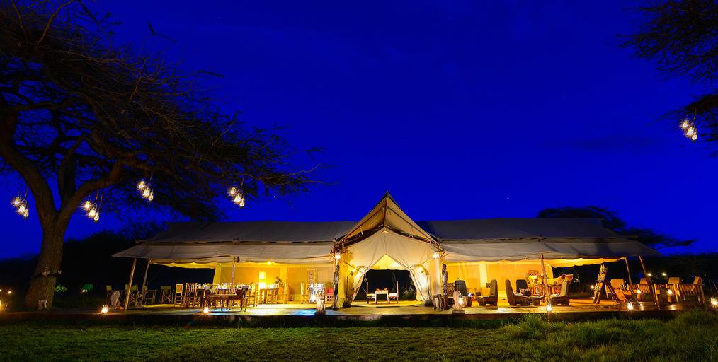 Asanja Africa Luxury Tent, Itilima