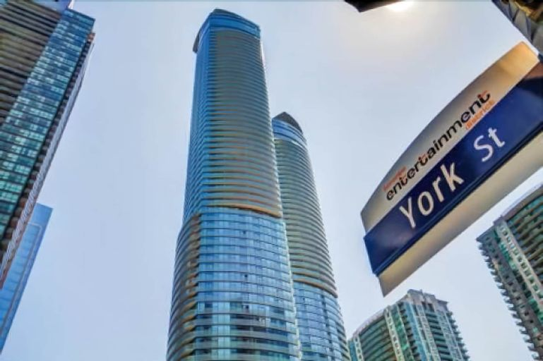 EG Suites - York St Condos 1 near CN Tower offered by Short Term Stays, Toronto