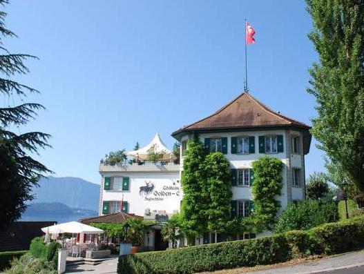 Jagd-Schloss – Swiss-Chalet Merlischachen, Küssnacht