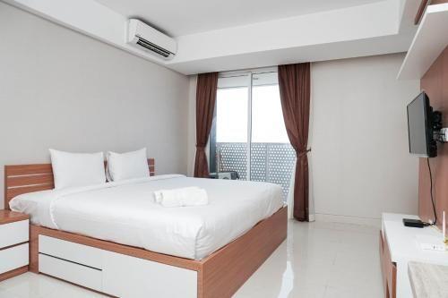 Spacious Studio with City View West Vista Apartment By Travelio, Jakarta Barat
