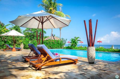 Villa Agus Mas - Serene & calm beachfront villa!, Buleleng