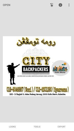 city backpackers, Kota Bharu
