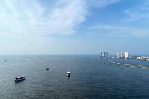 Brand New Sea View Condominium close to Airport, North Jakarta