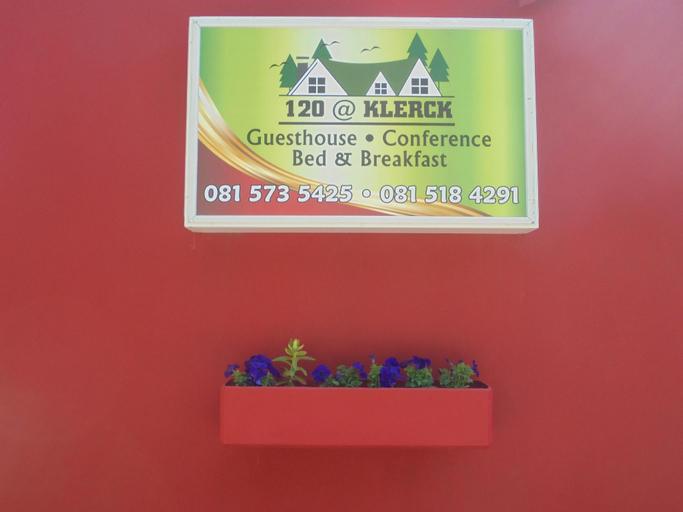 120 At Klerck Guest House, Mangaung