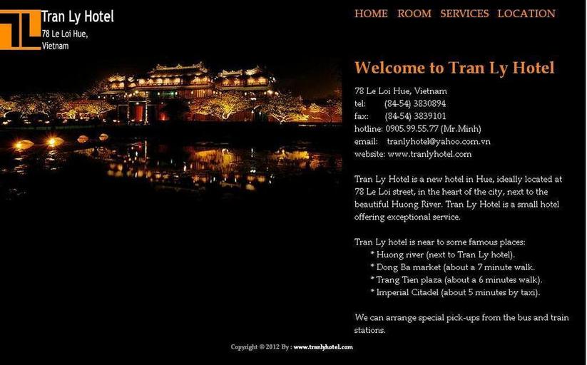 Tran Ly, Huế