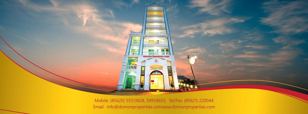 Domon Mekong Riverside Apartment & Hotel , Sikhottabong