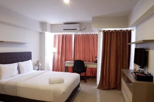 Best Price Studio Apartment The H Residence near MT Haryono, East Jakarta