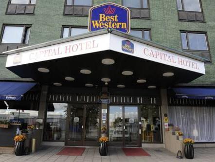 Best Western Capital Hotel, Stockholm