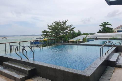 Seaview OneResidences Apt 5pax next to F Terminal, Batam