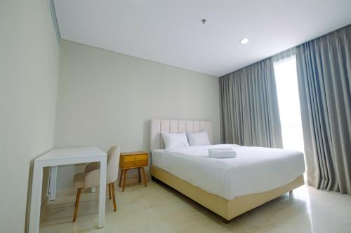Luxury 2BR + 1BR at Ciputra World 2 Apartment By Travelio, South Jakarta
