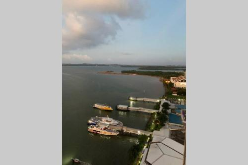 New! One Residences Condo Apt for 5pax, Beside Ferry Terminal, Batam