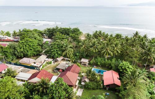 Surfcamp Krui Palmbeach, West Lampung