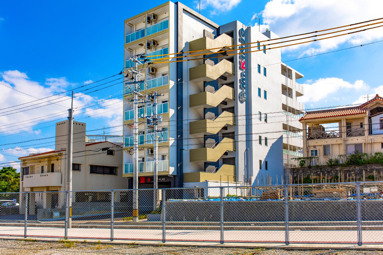Mr.KINJO Inn in front of Children Medical Care Center, Haebaru