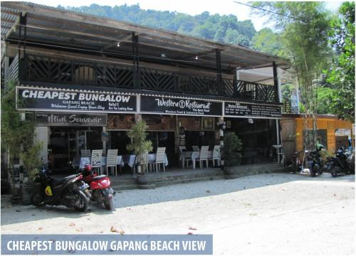 Cheapest Bungalow Gapang, Sabang