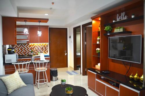 Comfy & Modern Apartment, Central Jakarta