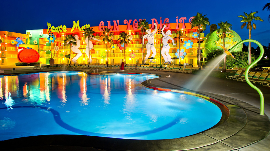 Disney's Pop Century Resort, Orange