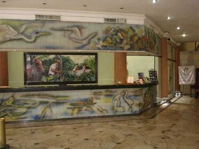 Gran Hotel Santa Cruz, Andrés Ibáñez