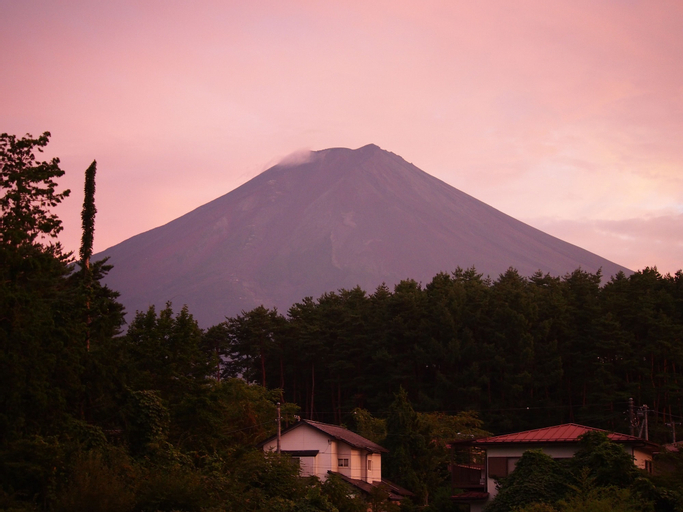 Kikkake Green and Mt.Fuji - Hostel, Fujiyoshida