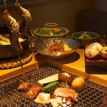 Shima Onsen Irori Cuisine & Yu no Yado Yamabato, Nakanojō