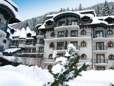 Residence Lagrange Vacances Le Cristal d'Argentière, Haute-Savoie